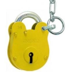 FB14 Padlock with chain